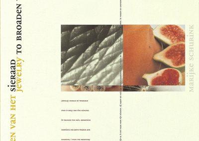 Marijke Schurink, A3 brochure